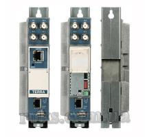 Трансмодулятор 8хDVB-S / S2 на 4 DVB-C - Terra tdq440