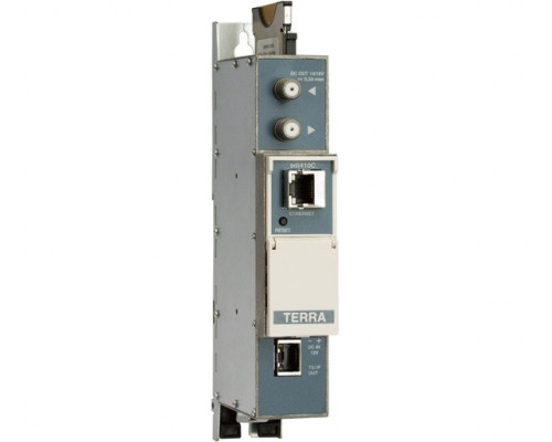 Стример DVB-S / S2 в IP і ASI TERRA sda410C