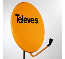 Антена супутникова офсетна Televes 0,65 (офсет), ref. 753510