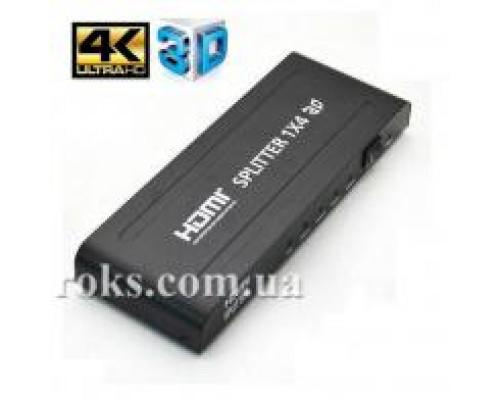 HDMI Spliter 1 вхід - 4 виходи ST-0104B