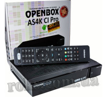 Openbox AS4K CI Pro Plus UHD